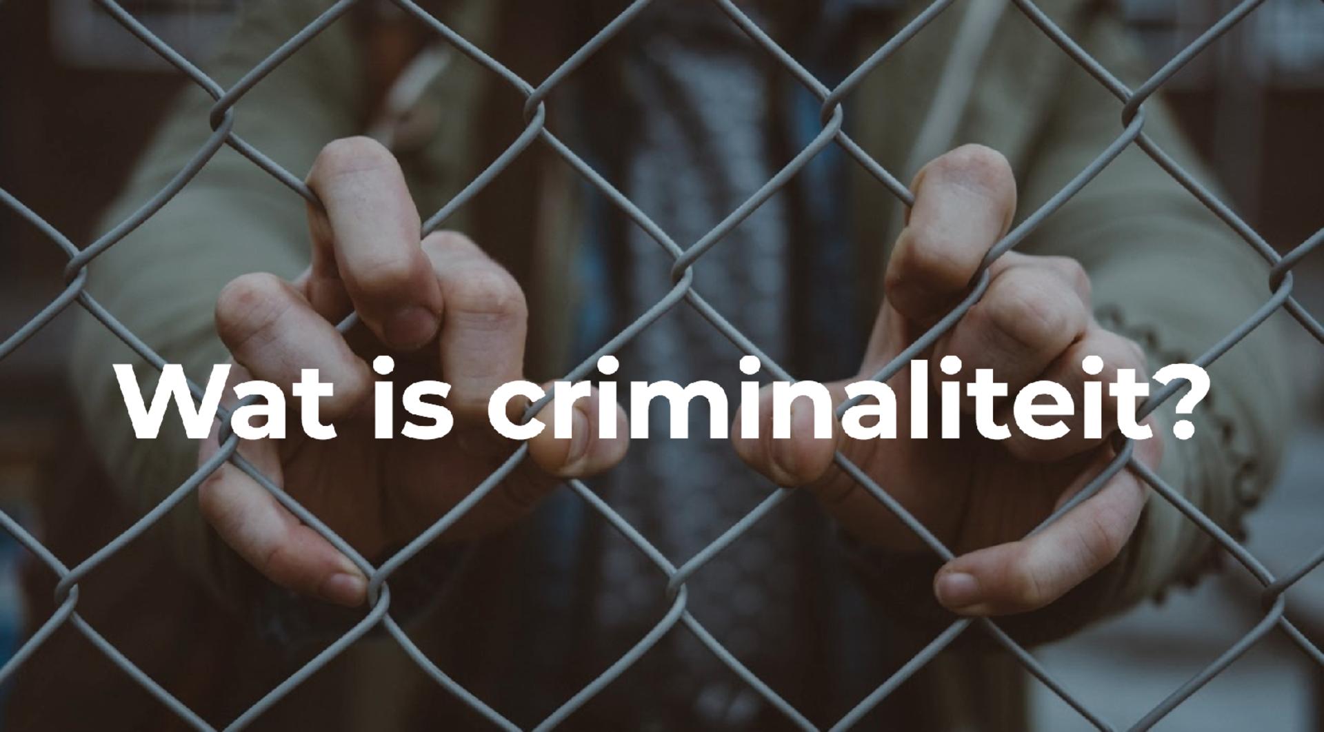 Les criminaliteit
