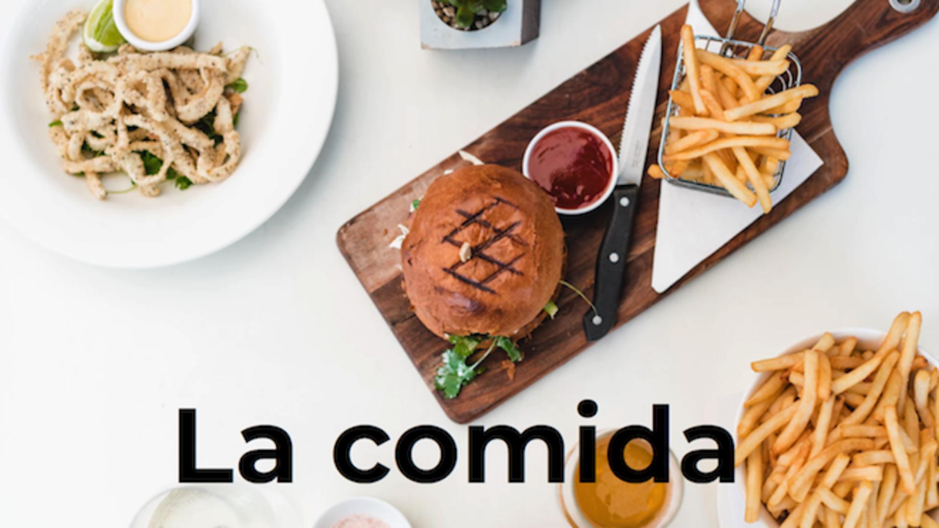 Spaanse les eten