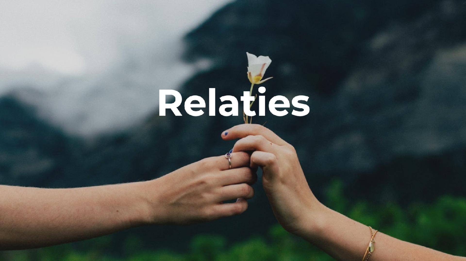 Les relaties