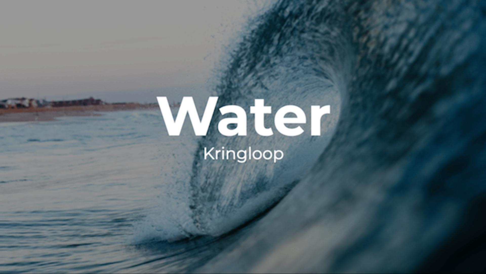les waterkringloop